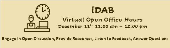 Virtual Open Office Hours
