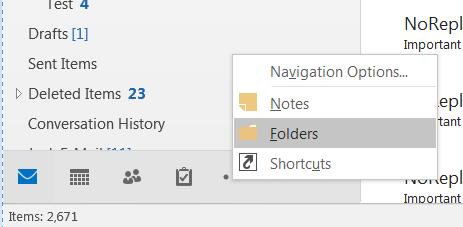 Public Folders - Outlook | clients | Vmail | Messaging