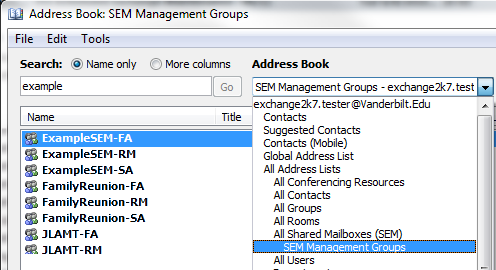 In to not able 2007 outlook book address