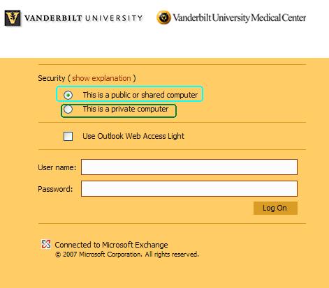 Vmail Outlook Web Access Login Choices Owa Vmail Messaging