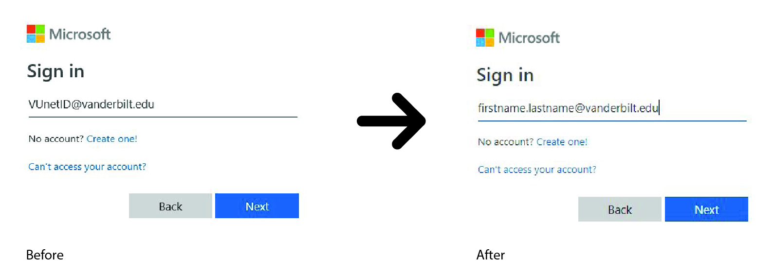 New Office 365 Sign In
