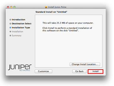 Junos Pulse Mac Download