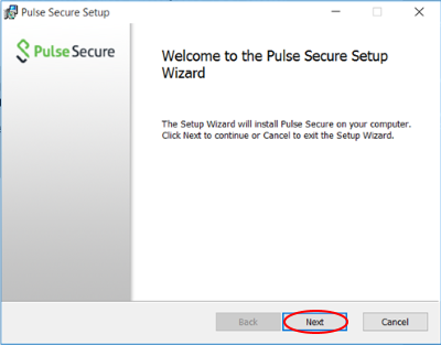 Pulse Secure Installation