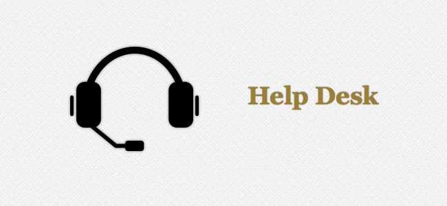 Contact the Help Desk